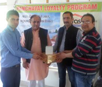 Panchayat loyalty awards at Sarahan